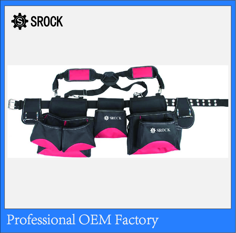 polyester multi-purpose OEM electrical waist tool bag
