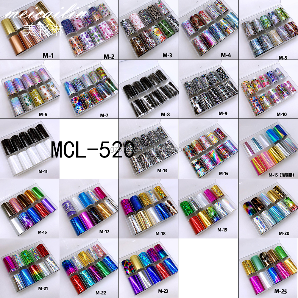 wholesale new christmas  transfer nail art foil sticker
