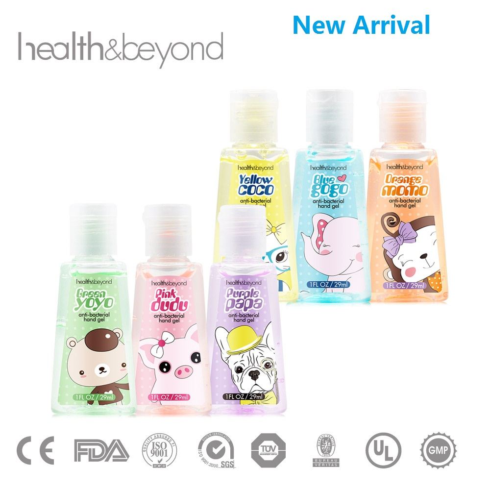 FDA approved free disign OEM new arrival instant scented hand sanitizer gel
