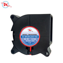 Hot selling DC mini fan 40*40*20 12v high-power dc blower short delivery time