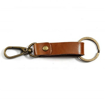 Different Types Of Bulk Cheap Leather Keychains