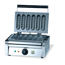 Biscuit Application Professional Stainless Steel Waffle Hot Dog Maker For Shea Butter(OT-58)