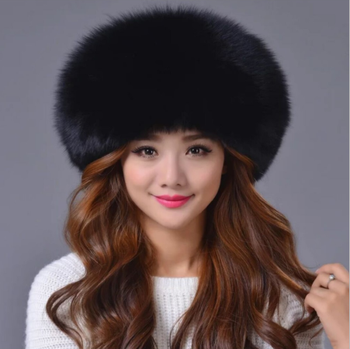 Faux Raccoon Fur Man Winter Hats Warm Long Hair Flat-Top Hat Unisex 8 Colors 8153720b91b