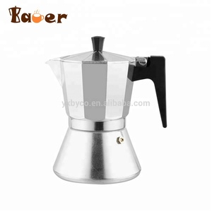 China Professional Manufacture Stovetop travel Moka Pot Espresso Coffee Maker portable