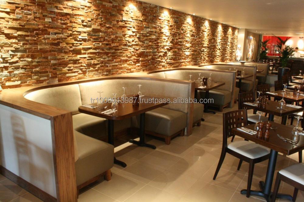 Sofa booth for restaurant okaycreations