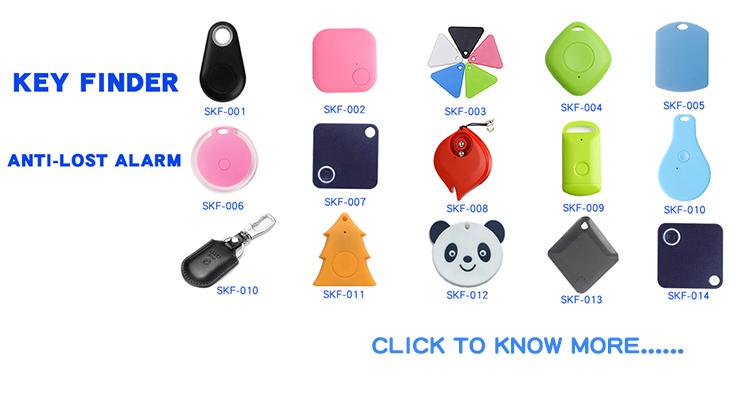 Nhỏ bluetooth tracker mỏng nhất chống mất alalrm công cụ tìm chìa khóa tương tự như gạch người bạn đời