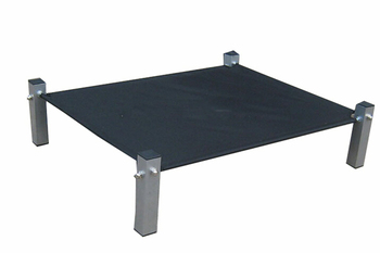 camping foldable 600d outdoor raised dog bed