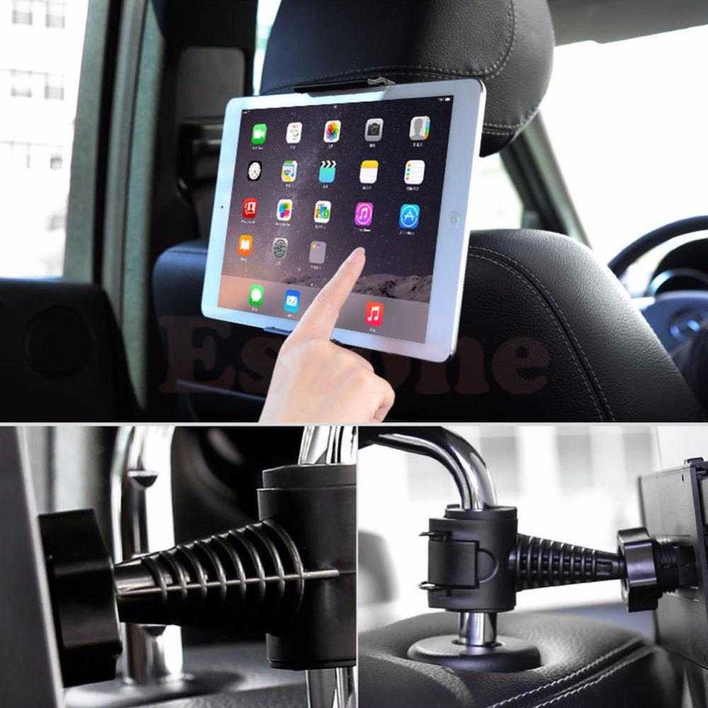 360 Degree Car Back Seat Headrest Mount Holder For