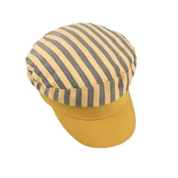 wholesale Fashion Style High Quality white military beret yellow