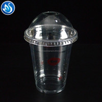 China manufacturer wholesale clear 32 oz plastic cups with lids