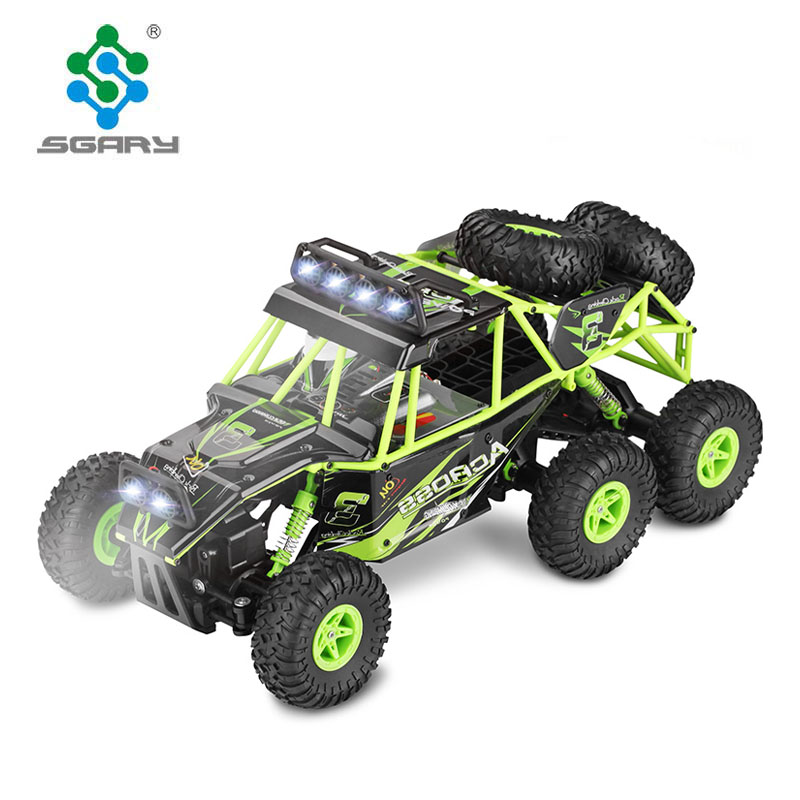 Remote Control cars 1:18 2.4G 6WD Electric RC Car <strong>Model</strong> Off-Road Rock Crawler Climbing RC Buggy Car RTR Boy Toys