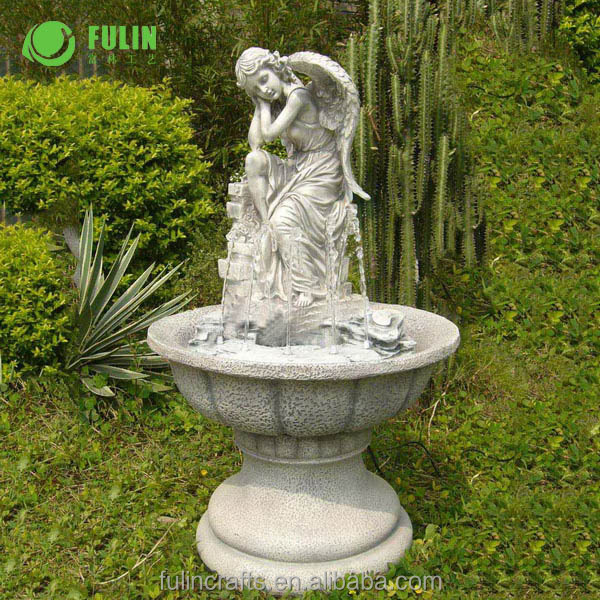Large Resin Garden Water Fountain