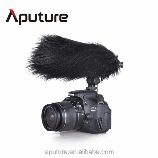 Aputure Low self-noise Low-cut filter Video Camera Condenser Shotgun Microphone for video recording