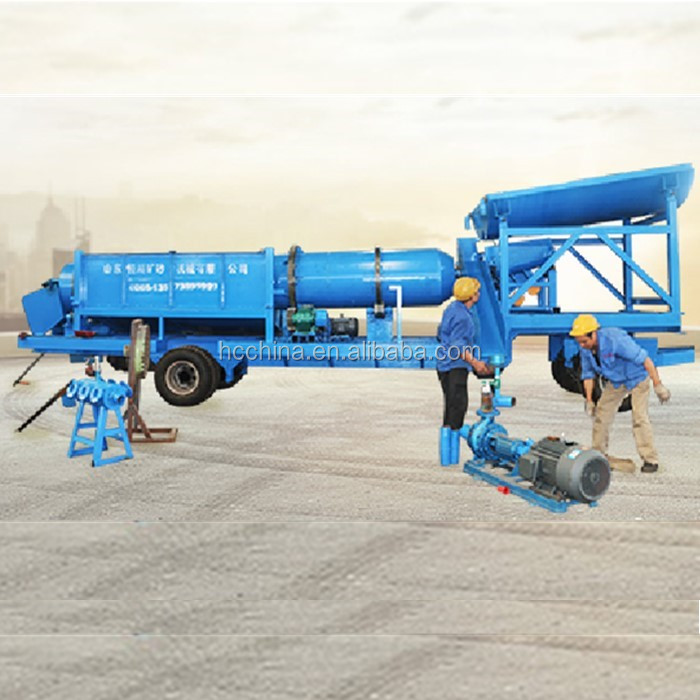 Chinese New Technology Portable Movable Mobile Gold Machine for Sale