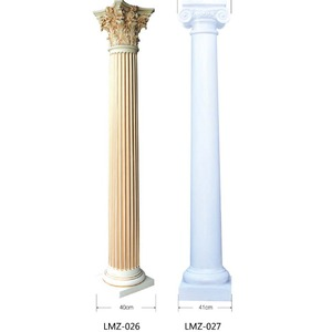 white wedding decoration column plastic roman pillars for homes