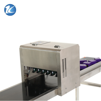 Factory Price KP-19 Type Automatic Egg Jet Printing Machine with 6 Printheads