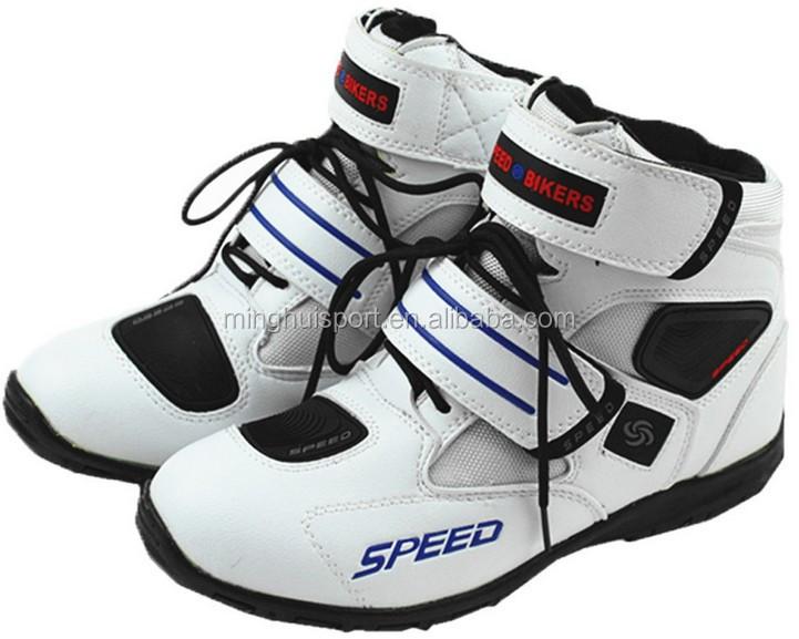 100% toppkvalitet finaste urvalet billig Speed Motorcycle Shoes Racing Motocross Motorbike Riding Boots ...