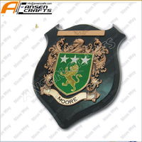 hottest selling high quality customized trophies and wooden shields