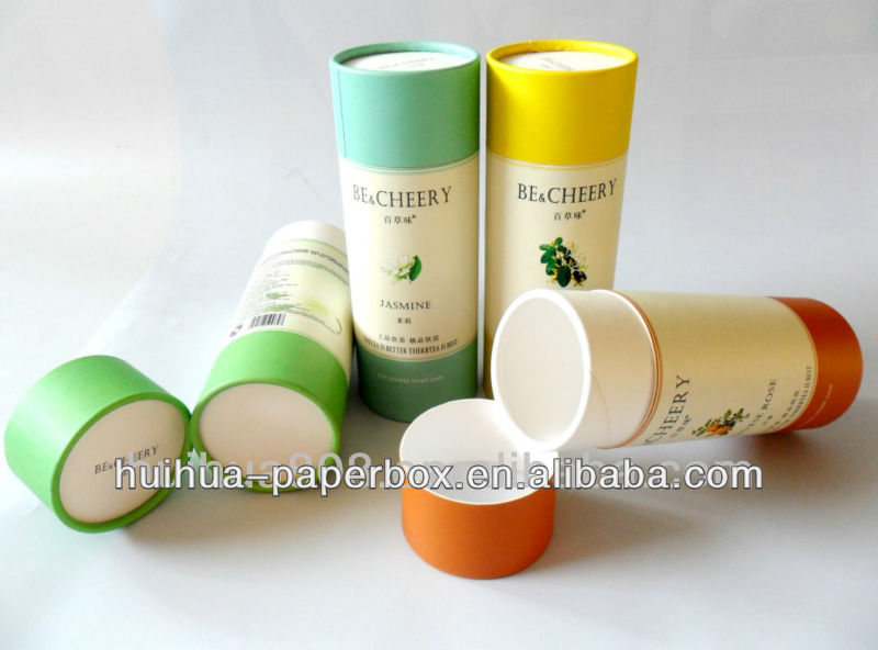 body cream paper tube