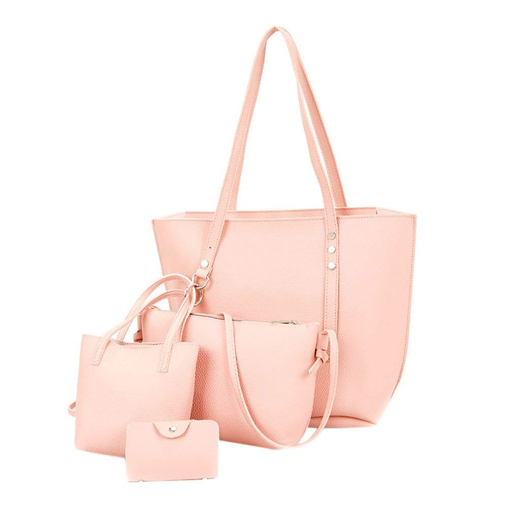 Get Quotations · 4Pcs Women Pattern Leather Shoulder Bag+Crossbody Bag+ Handbag+Wallet,Outsta Wallet c79574914f