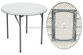 Mini Round Table For Lunch Dinner/round Conference Table In HDPE Blow  Mold/restaurant