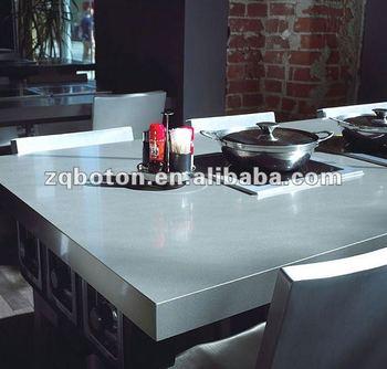 Artificiale Lastra Di Quarzo Bianco Neve/salato Bianco Contro Parte  Superiore/top Cucina/vanità Top - Buy Cafe Contatore Top,Piani Bagno In ...