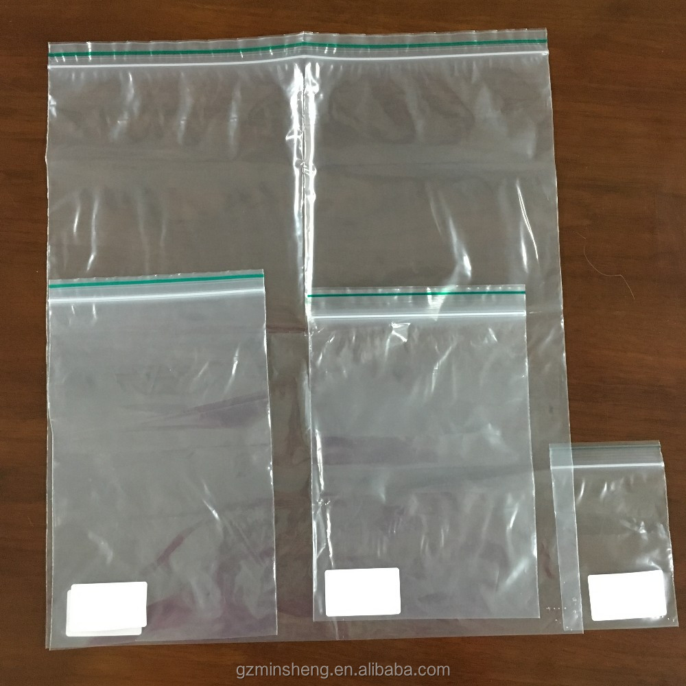 shopping mall plastic pe sealing bag factory low price