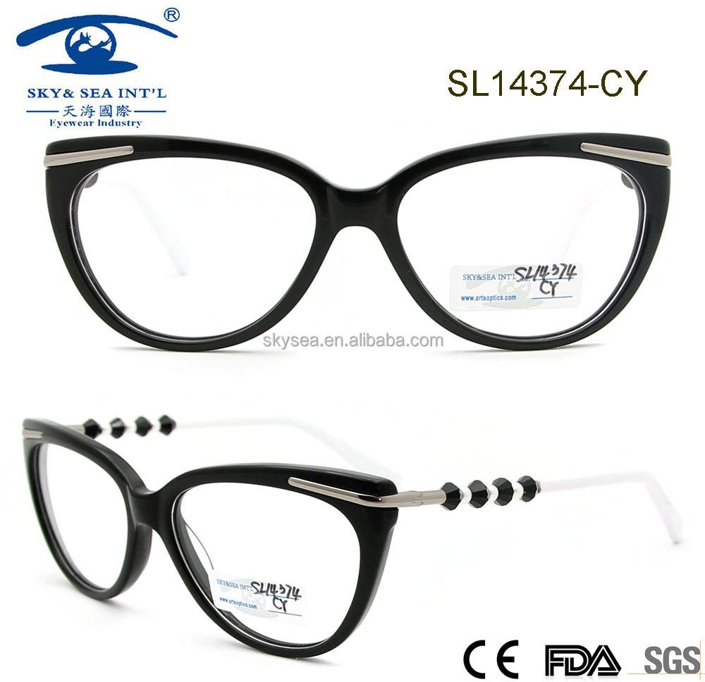 fashion optical frames  Fashion Eyeglasses Optical Frame For Girls,Hand Made Nice Acetate ...