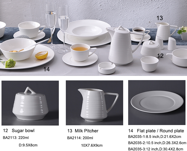 Ceramic Tableware custom manufacturer