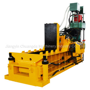 Quality scrap car baling press machine