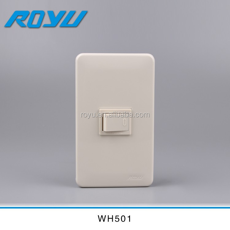 Southeast Asia popular design fast way installation module type 16A PC material lighting switch