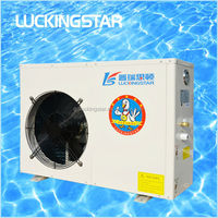 Air to water spa heat pump & small swimming pool heating and cooling