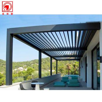 China Customize Wood Colored Manufacture Garden Aluminum