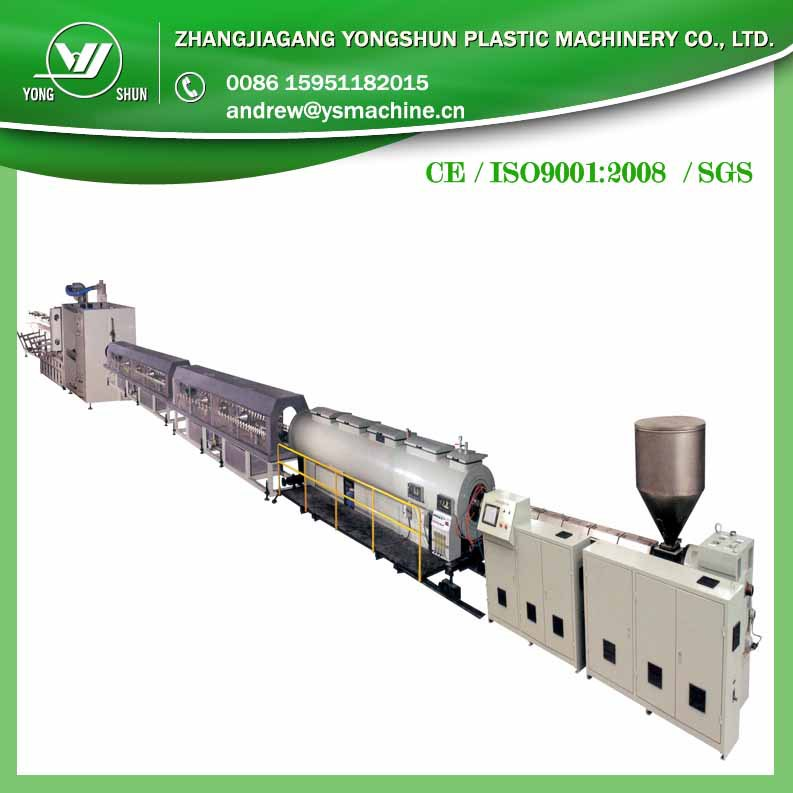 HOT sale High powerful cheap plastic extrusion machine for PE gas pipe