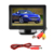 CL-403K 4.3 inch LCD Car Dashboard Color Monitor Support  Rearview Vehicle Backup Parking Cameras