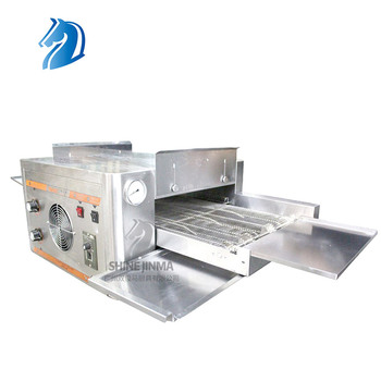 Continuously Baking Conveyor Pizza Oven Electric Commercial