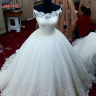 Party Wholesale Hot Sale Plus Size Lace Bridal Gowns Wedding Dress