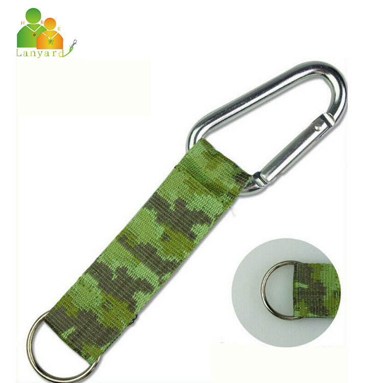 The News product water bottle holder lanyard with carabiner hooks, carabiner hook for key with custom logo