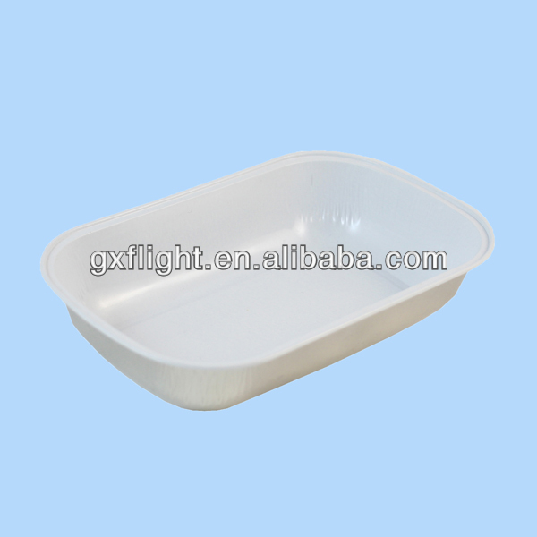 airline food trays disposable aluminum foil trays