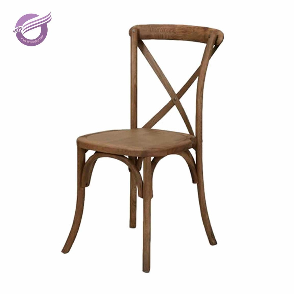 Zy8 Wholesale Vintage Cross Back Cafe Chair French X Back