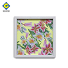 Inverse Framed Art oil painting spring abstract Best selling white frame