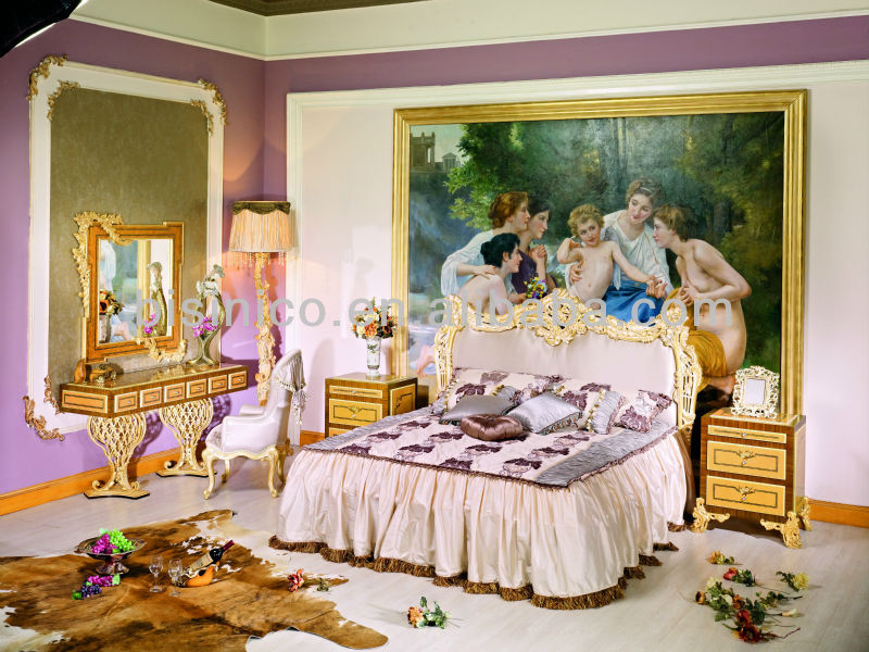 Bisini Style Italien Meubles De Chambre à Coucher Royale De Luxe Ensemble  De Meubles De Chambre ...