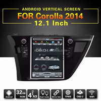 factory wholesale best quality car audio system 12.1