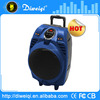 8inch 50w big portable rechargeable speaker with usb/sd