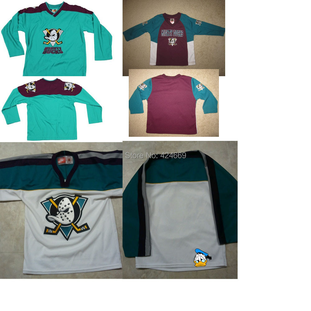 new product b3cad 6ddaa Buy old times Cheap Vintage mighty ducks hockey jersey ...