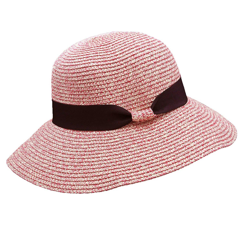 spyman Summer New Sun Hats Ribbon Round Flat Top Straw Beach Hat Panama Hat Summer Hats for Women Straw Cap Snapback Gorras