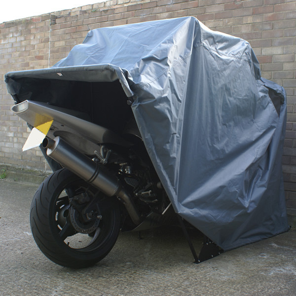 Motorcycle Metal Canopy : Outdoor bike bicycle motorcycle carport for