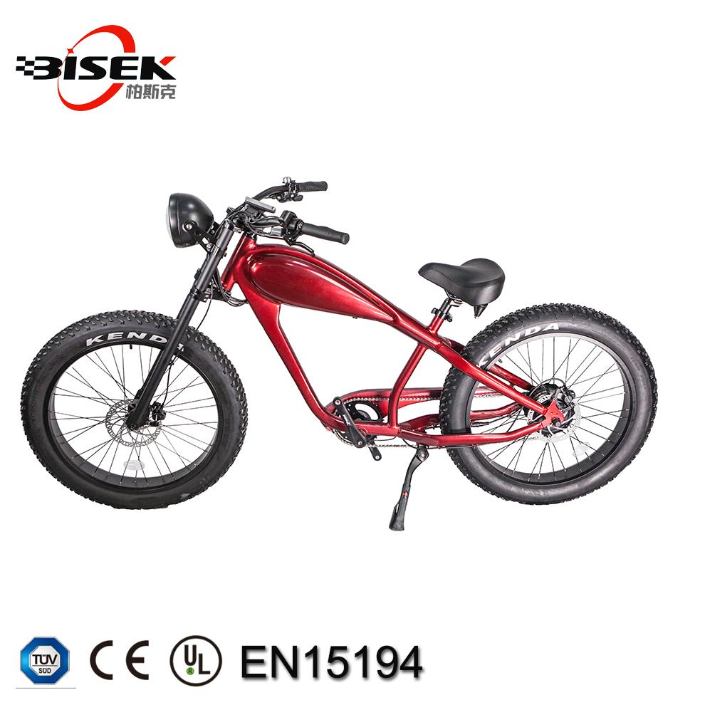 Chopper Electric Fat Bicycle Vintage Retro E Bike
