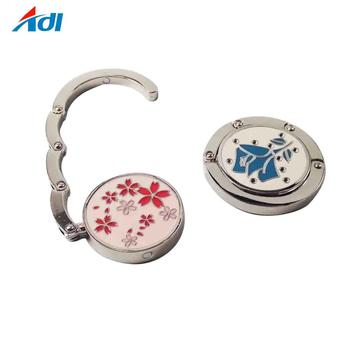 wholesale spring flower instant purse hanger for table