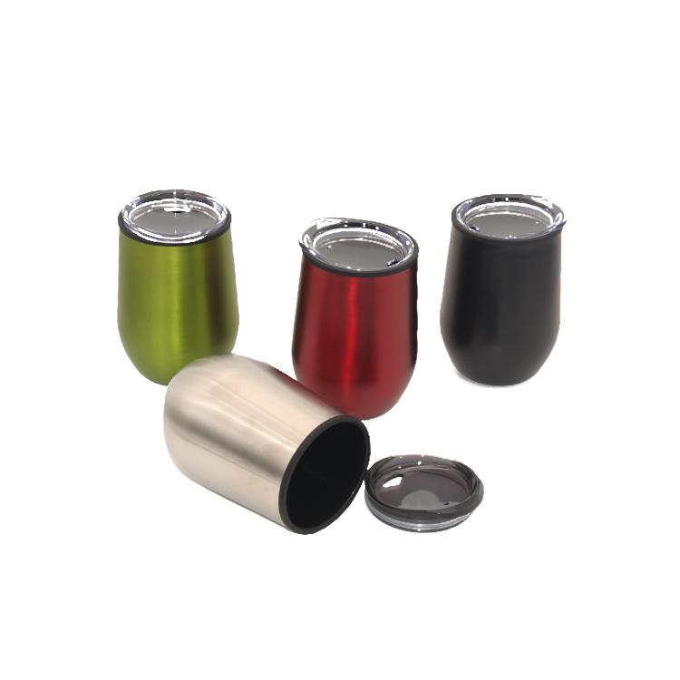 حار بيع و رخيصة مخصص البلاستيك الداخلي الخارجي الفولاذ المقاوم للصدأ قدح معزول السفر القدح
